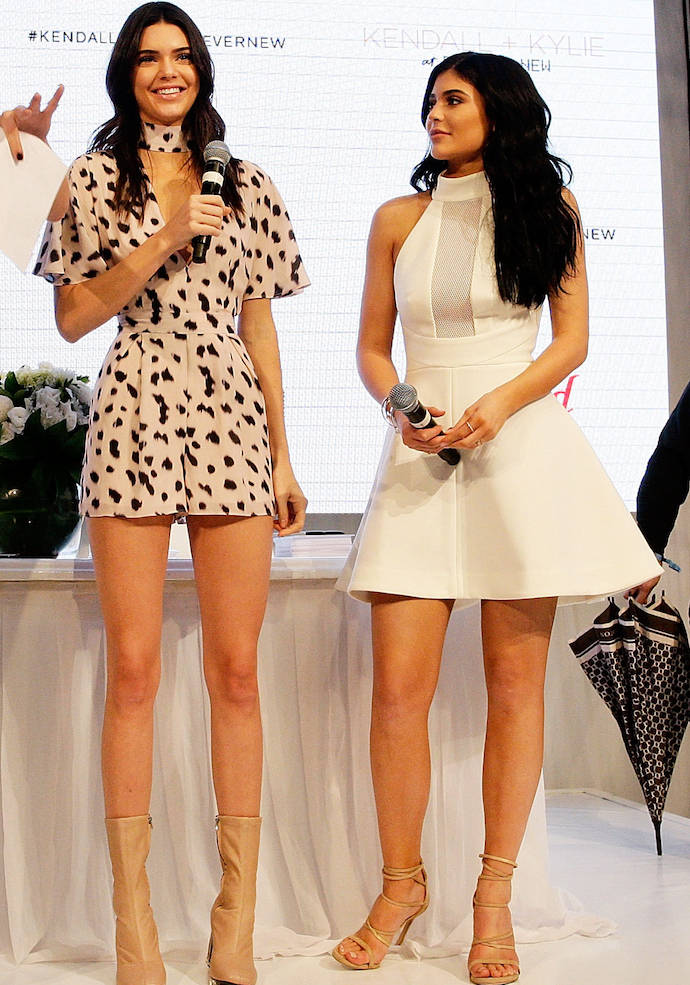 Kendall Jenner And Kylie Jenner Launch New Kendall + Kylie