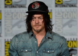 Norman Reedus attends the TV Guide Magazine: Fan Favorites panel during Comic-Con International 2015 at the San Diego Convention Center (Photo by Ethan Miller/Getty Images)