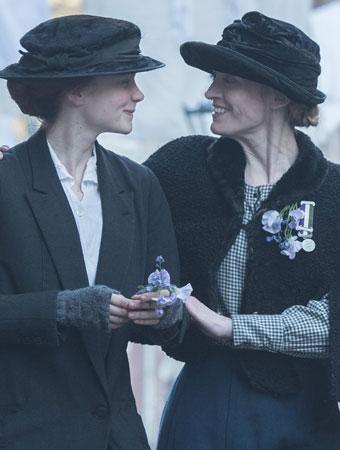 Carey Mulligan and Anne-Marie Duff In 'Suffragette' (2015)