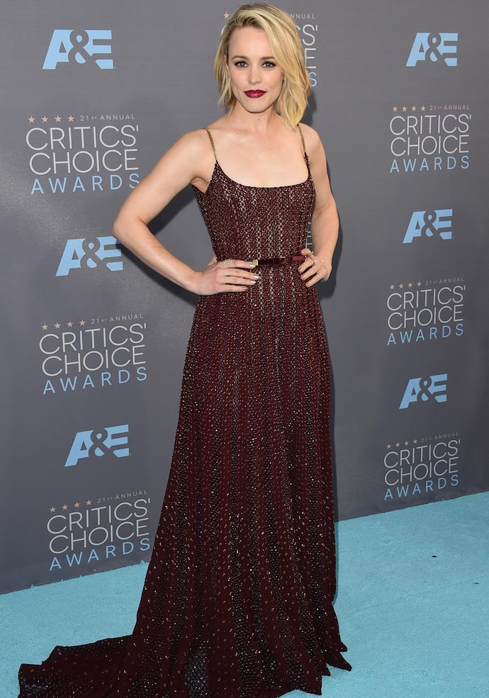 Critics Choice Awards 2016: Rachel McAdams