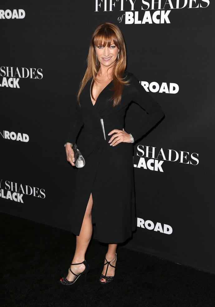 Jane Seymour at the premiere of Fifty Shades of Black