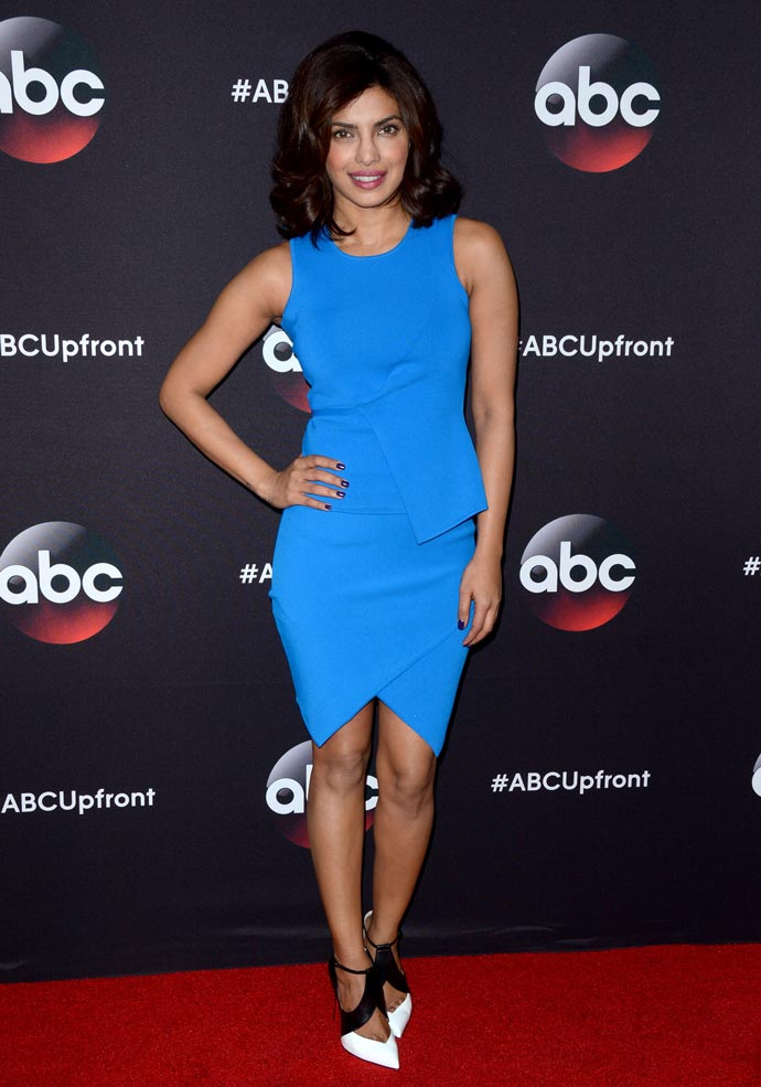 Priyanka Chopra at ABC's Upfront Presentation