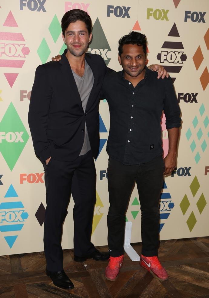 Ravi Patel and co-star Josh Peck