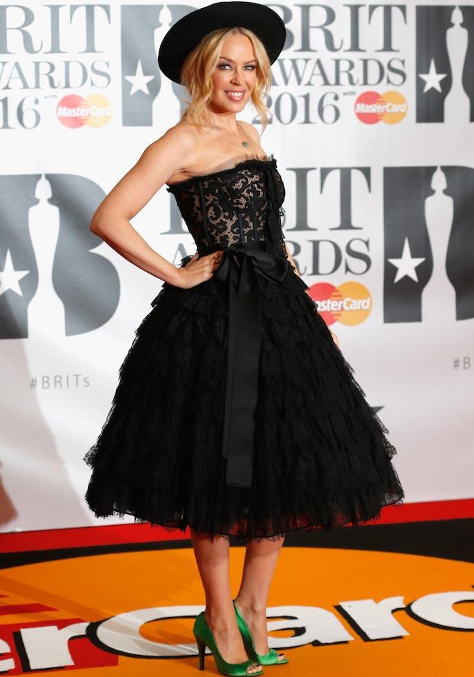 Brit Awards 2016: Kylie Minogue