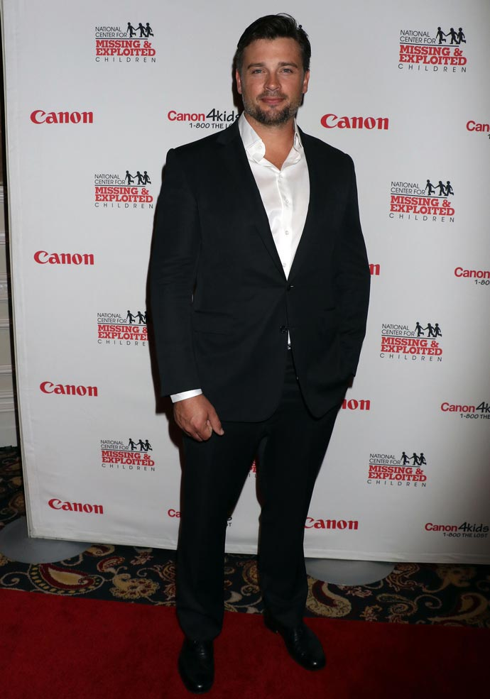 Tom Welling at Canon Customer Appreciation event