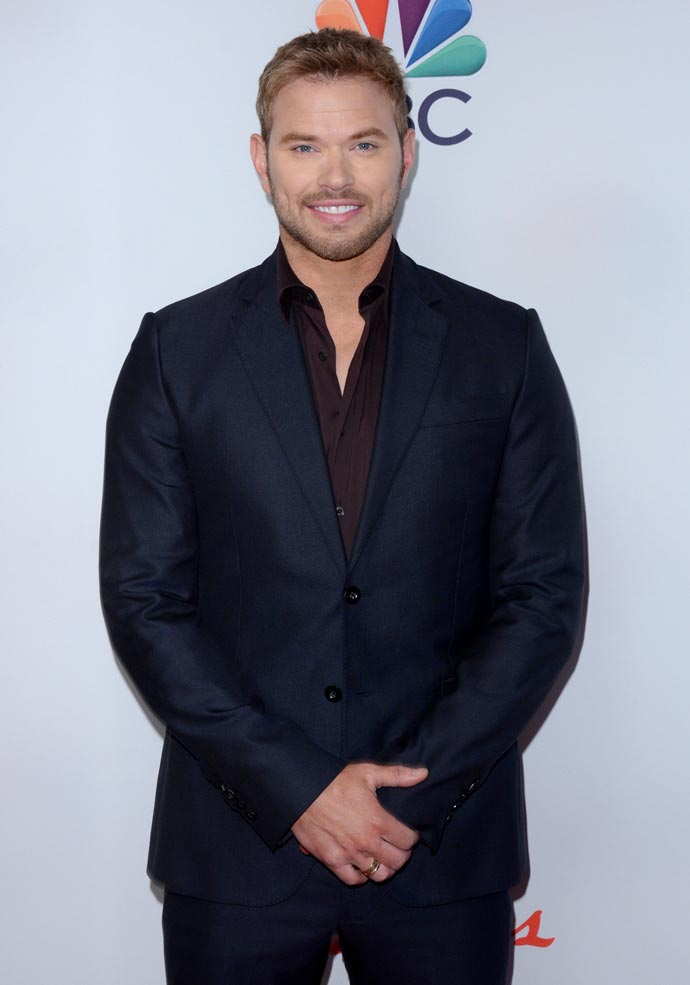 Kellan Lutz at the Red Nose Charity Event