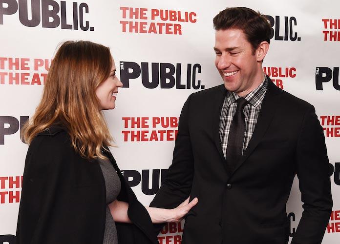 Pregnant Emily Blunt Supported Husband John Krasinski At