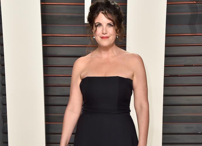 Monica Lewinsky Stuns Vanity Fair Oscar Party