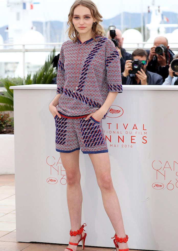 Cannes 2016: Lily Rose-Depp