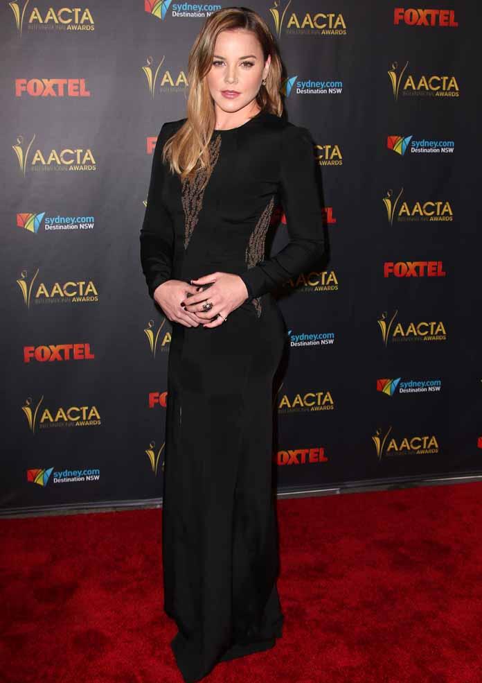 Abbie Cornish at 2016 AACTA International Awards