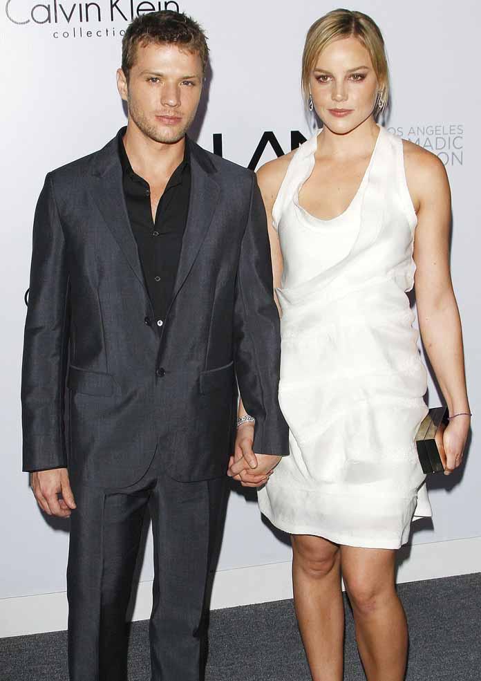 Abbie Cornish and Ryan Phillippe
