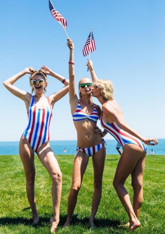 Gigi Hadid, Cara Delevingne & Taylor Swift