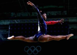 VIDEO EXCLUSIVE: Olympic Gymnast Simone Biles Reveals How She Spent Lockdown