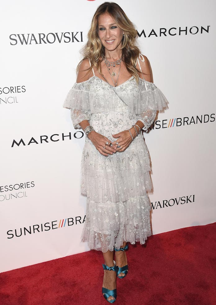Sarah Jessica Parker Wore Needle And Thread To ACE Awards ...