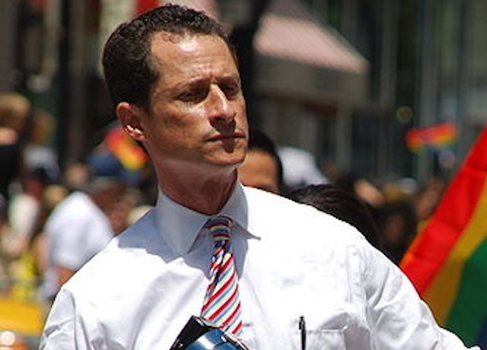 Anthony Weiner Pleads Guilty to Sexting With 15 Year Old, Must Register As Sex Offender