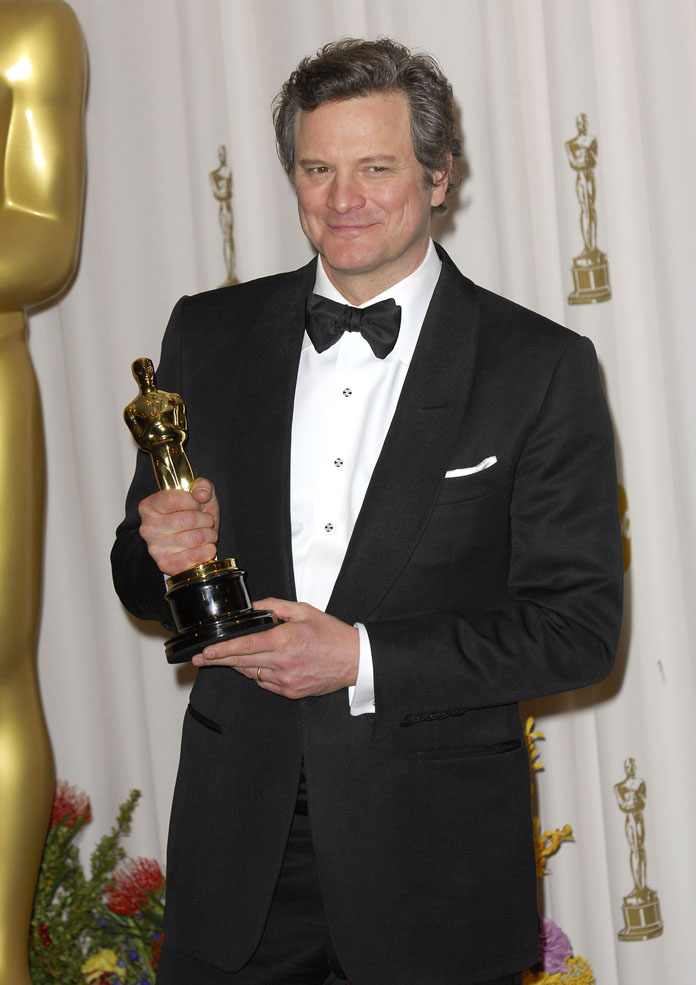Colin Firth At The 83rd Annual Academy Awards