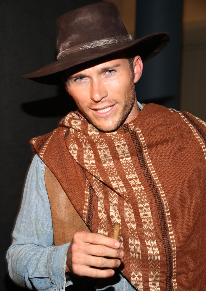 Scott Eastwood Channels Father In Classic Cowboy Costume
