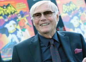 NEW YORK, NY - OCTOBER 06: Actor Adam West attends the Batman: Return of the Caped Crusaders Press Room at New York Comic-Con - Day 1 at Jacob Javits Center on October 6, 2016 in New York City.