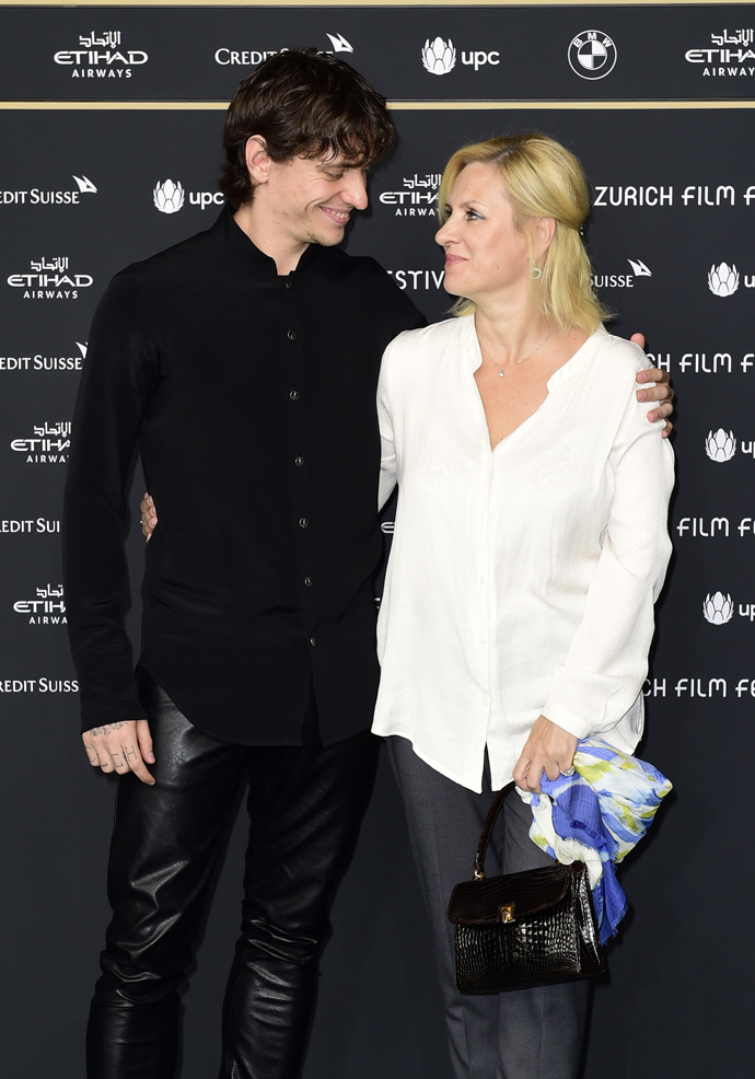 Sergei Polunin and his mother Galina Polunina