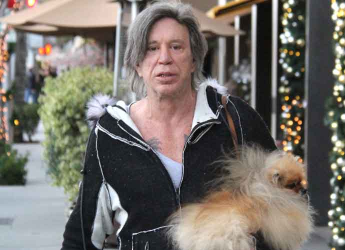 Mickey Rourke Doesn't ...