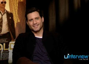 Edgar Ramirez On Almost Dying While Filming 'Gold,' Bonding With Matthew McConaughey In His Underwear [VIDEO EXCLUSIVE]