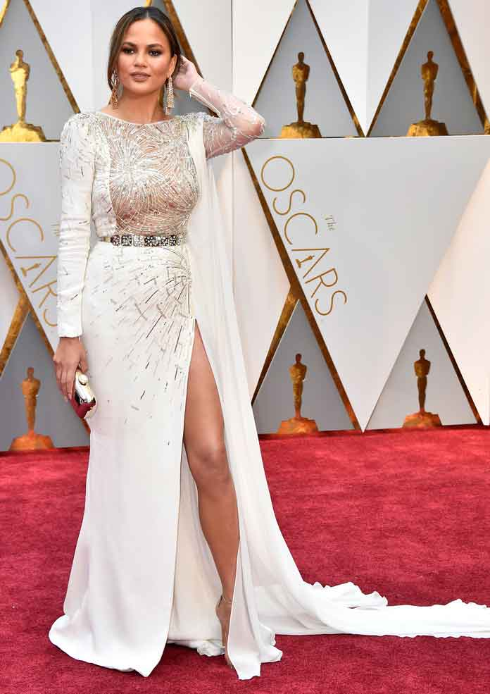 Oscars 2017 Best Dressed Chrissy Teigen
