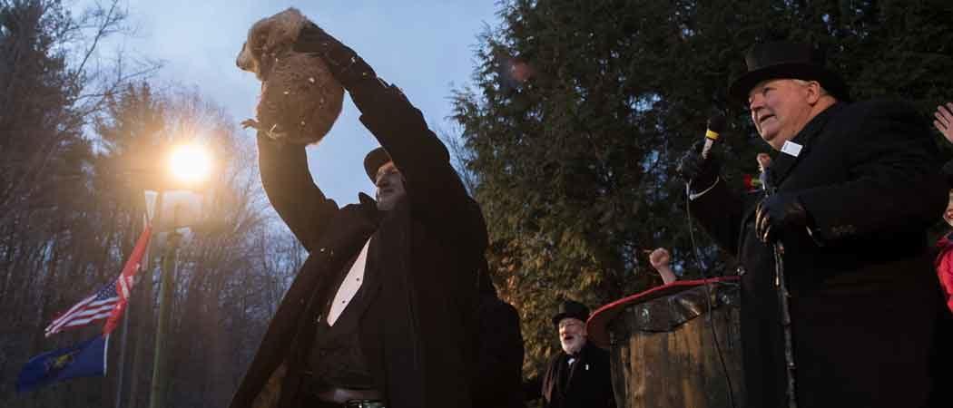 Groundhog Day Result: Punxsutawney Phil Sees Shadow, 6 More Weeks Of Winter