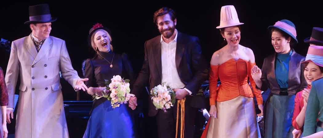Jake Gyllenhaal Stars In Broadway's 'Sunday In The Park With George'