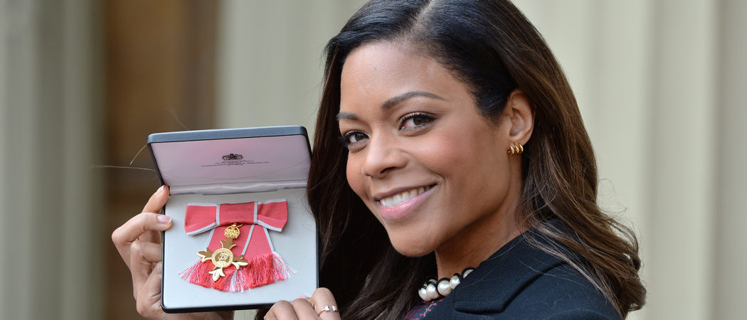 Naomie Harris Honored With OBE From Queen Elizabeth II