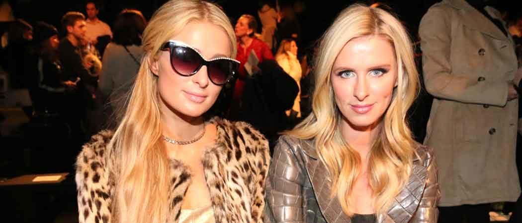 Paris & Nicky Hilton Attend New York Fashion Week