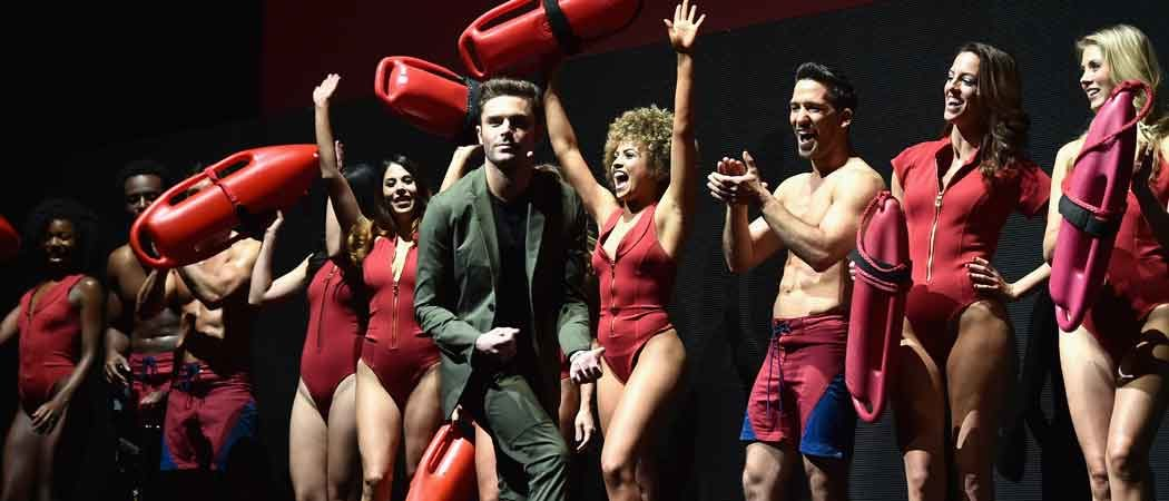 Zac Efron Unveils New 'Baywatch' Footage With Co-Stars At CinemaCon