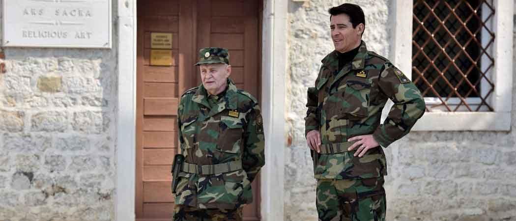 Goran Višnjić Films 'General' In Zadar, Croatia