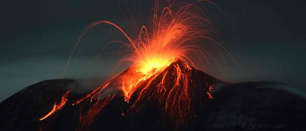 Mount Etna Erupts, Injuring Tourists & BBC Crew [PHOTOS]