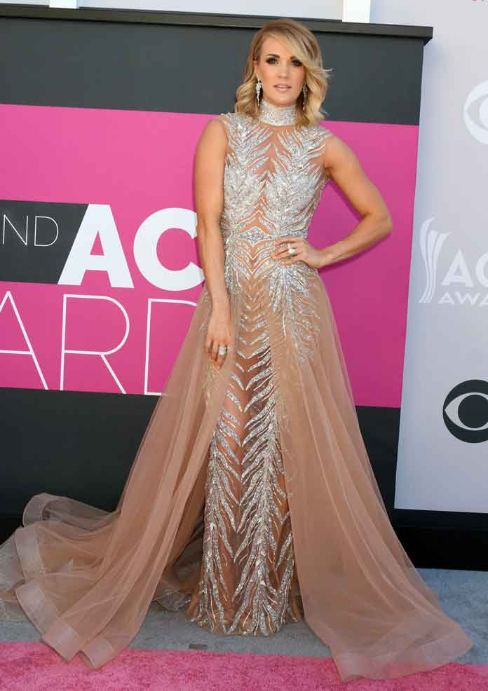 ACM Awards 2017 Best Dressed: Carrie Underwood