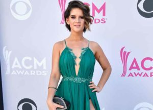 LAS VEGAS, NV - APRIL 02: Recording artist Maren Morris attends the 52nd Academy Of Country Music Awards at Toshiba Plaza on April 2, 2017 in Las Vegas, Nevada.