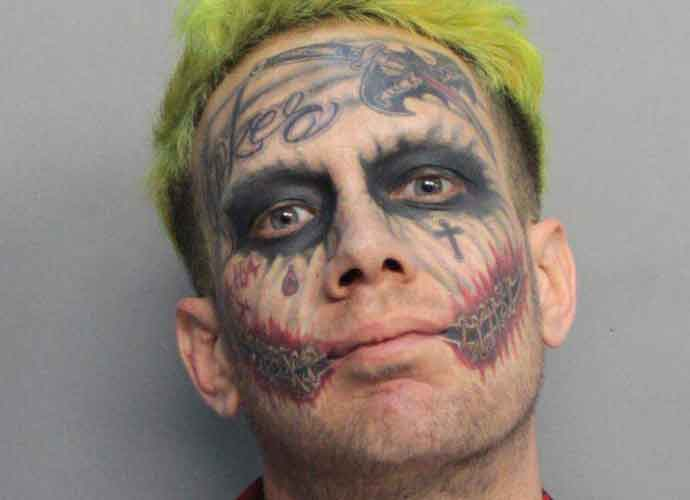 Lawrence Patrick Sullivan, A Florida Man Resembling The Joker, Arrested For Waving Gun At Drivers