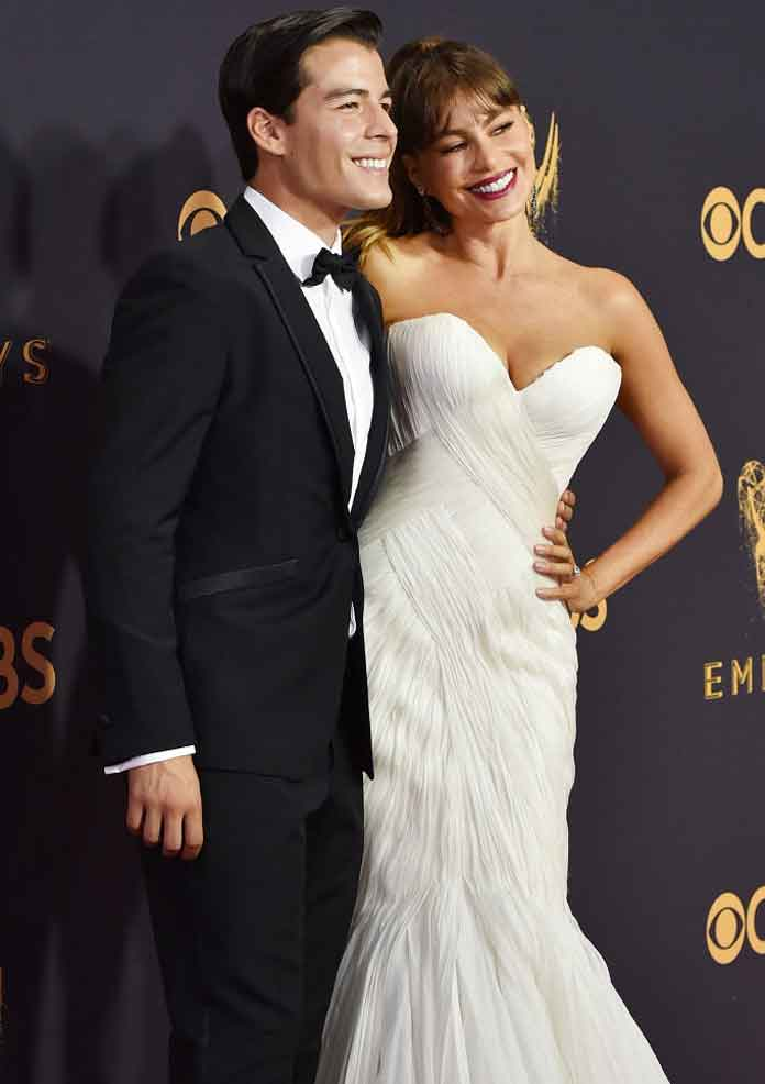 2017 Emmys: Sofia Vergara and son Manolo Gonzalez