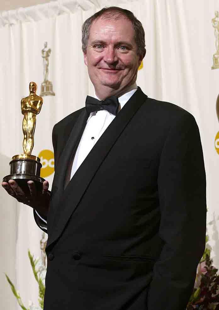 Jim Broadbent wins his Oscar for 'Iris' (2002)