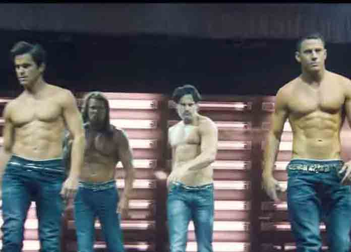Shirtless Matt Bomer in 'Magic Mike XXL' (2015)