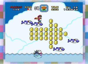Super Mario World on the Super NES Classic Edition (Image: Nintendo)