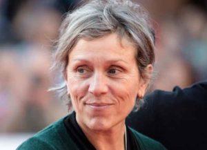 Frances McDormand attends 10th Rome Film Festival - Isabella Rossellini presents 'Siamo Donne' (Image: Getty)