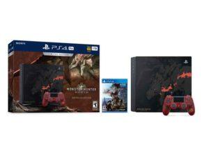 PlayStation 4 Pro 1TB Monster Hunter World Limited Edition System