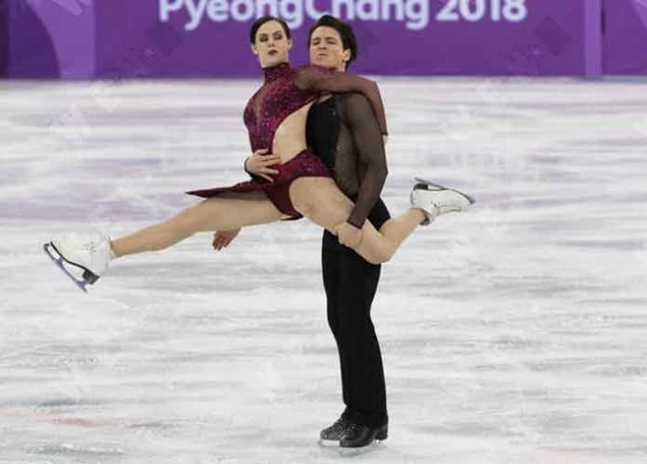 Tessa en Scott Ice Dancers dating