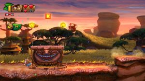 Donkey Kong and Diddy Kong in Donkey Kong Country: Tropical Freeze (Image: Nintendo)