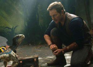 Chris Pratt in 'Jurassic World: Fallen Kingdom' (Photo courtesy of Universal)