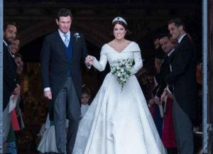 Princess Eugenie Of York & Jack Brooksbank Are Married At Windsor Castle (Photo: Getty)