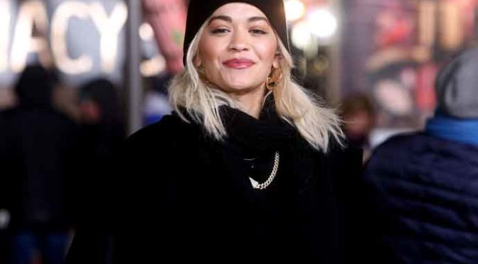 Rita Ora Preps For Macy's Thanksgiving Day Parade, High Winds Threaten Balloons [VIEWING TIMES]