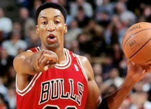 Former Chicago Bulls' Star Scottie Pippen