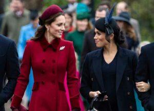 Kate Middleton & Megan Markle Look Stunning At Christmas Mass (Image: Getty)