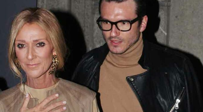 Celine Dion Spotted At Valentino Fashion Show In Paris With Boyfriend Pepe Munoz